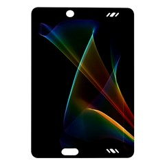 Abstract Rainbow Lily, Colorful Mystical Flower  Kindle Fire Hd 7  (2nd Gen) Hardshell Case by DianeClancy