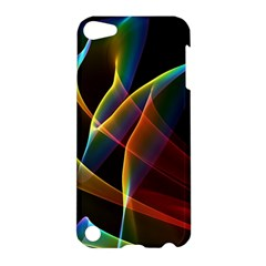 Peacock Symphony, Abstract Rainbow Music Apple Ipod Touch 5 Hardshell Case by DianeClancy