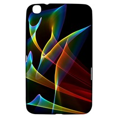 Peacock Symphony, Abstract Rainbow Music Samsung Galaxy Tab 3 (8 ) T3100 Hardshell Case