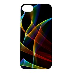 Peacock Symphony, Abstract Rainbow Music Apple Iphone 5s Hardshell Case