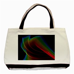 Liquid Rainbow, Abstract Wave Of Cosmic Energy  Classic Tote Bag by DianeClancy