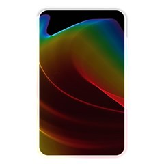 Liquid Rainbow, Abstract Wave Of Cosmic Energy  Memory Card Reader (rectangular) by DianeClancy