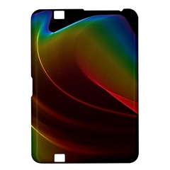 Liquid Rainbow, Abstract Wave Of Cosmic Energy  Kindle Fire HD 8.9  Hardshell Case