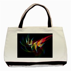 Northern Lights, Abstract Rainbow Aurora Classic Tote Bag by DianeClancy