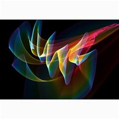 Northern Lights, Abstract Rainbow Aurora Canvas 20  X 30  (unframed) by DianeClancy