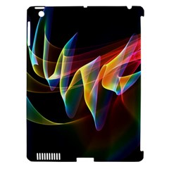 Northern Lights, Abstract Rainbow Aurora Apple Ipad 3/4 Hardshell Case (compatible With Smart Cover) by DianeClancy