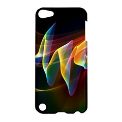 Northern Lights, Abstract Rainbow Aurora Apple Ipod Touch 5 Hardshell Case by DianeClancy