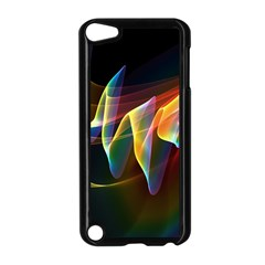 Northern Lights, Abstract Rainbow Aurora Apple Ipod Touch 5 Case (black) by DianeClancy