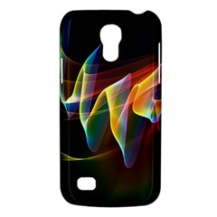 Northern Lights, Abstract Rainbow Aurora Samsung Galaxy S4 Mini (gt I9190) Hardshell Case  by DianeClancy