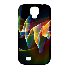 Northern Lights, Abstract Rainbow Aurora Samsung Galaxy S4 Classic Hardshell Case (pc+silicone) by DianeClancy