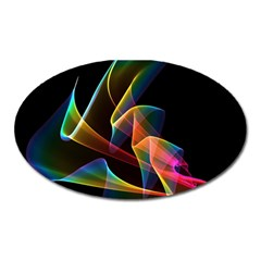 Crystal Rainbow, Abstract Winds Of Love  Magnet (oval) by DianeClancy