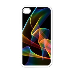 Crystal Rainbow, Abstract Winds Of Love  Apple Iphone 4 Case (white) by DianeClancy