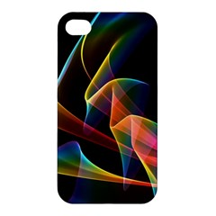 Crystal Rainbow, Abstract Winds Of Love  Apple Iphone 4/4s Hardshell Case by DianeClancy