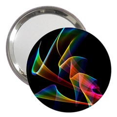 Crystal Rainbow, Abstract Winds Of Love  3  Handbag Mirror by DianeClancy