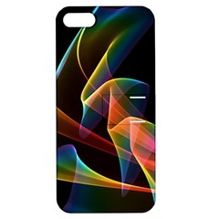 Crystal Rainbow, Abstract Winds Of Love  Apple Iphone 5 Hardshell Case With Stand by DianeClancy
