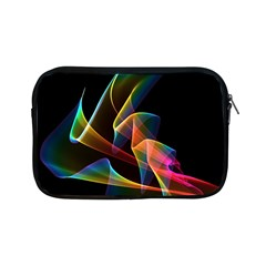 Crystal Rainbow, Abstract Winds Of Love  Apple Ipad Mini Zippered Sleeve by DianeClancy