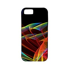 Dancing Northern Lights, Abstract Summer Sky  Apple Iphone 5 Classic Hardshell Case (pc+silicone) by DianeClancy
