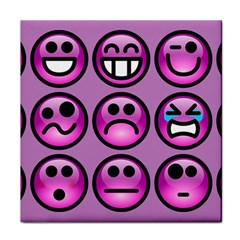 Chronic Pain Emoticons Face Towel by FunWithFibro