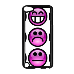 Chronic Pain Emoticons Apple Ipod Touch 5 Case (black) by FunWithFibro