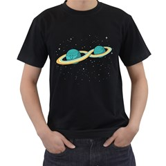 Infinite Space Men s T Shirt (black) by Contest1884227