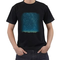 There Is Somebody Out There! Men s T Shirt (black) by Contest1884227