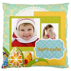Easter By Easter   Large Cushion Case (two Sides)   Ldzkunt257xl   Www Artscow Com Back
