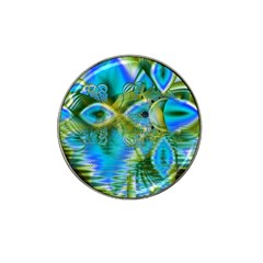 Mystical Spring, Abstract Crystal Renewal Golf Ball Marker (for Hat Clip)