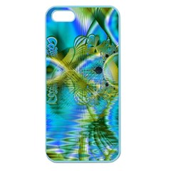 Mystical Spring, Abstract Crystal Renewal Apple Seamless Iphone 5 Case (color) by DianeClancy