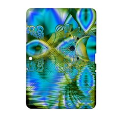 Mystical Spring, Abstract Crystal Renewal Samsung Galaxy Tab 2 (10 1 ) P5100 Hardshell Case  by DianeClancy