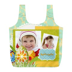 Easter By Easter   Full Print Recycle Bag (l)   Bhuawv26u2ph   Www Artscow Com Front