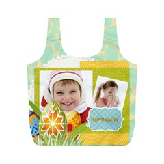 Eater By Easter   Full Print Recycle Bag (m)   Vcato7z969ro   Www Artscow Com Front
