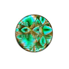 Spring Leaves, Abstract Crystal Flower Garden Golf Ball Marker 4 Pack (for Hat Clip) by DianeClancy