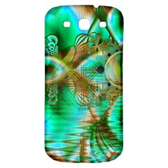 Spring Leaves, Abstract Crystal Flower Garden Samsung Galaxy S3 S Iii Classic Hardshell Back Case by DianeClancy