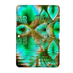 Spring Leaves, Abstract Crystal Flower Garden Samsung Galaxy Tab 2 (10 1 ) P5100 Hardshell Case  by DianeClancy