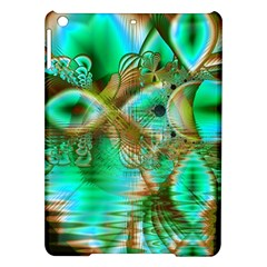 Spring Leaves, Abstract Crystal Flower Garden Apple Ipad Air Hardshell Case by DianeClancy