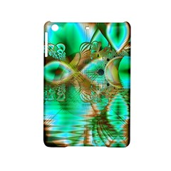 Spring Leaves, Abstract Crystal Flower Garden Apple Ipad Mini 2 Hardshell Case by DianeClancy