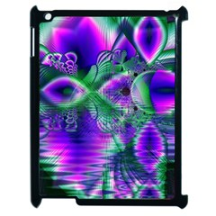 Evening Crystal Primrose, Abstract Night Flowers Apple Ipad 2 Case (black) by DianeClancy