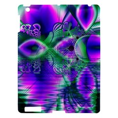 Evening Crystal Primrose, Abstract Night Flowers Apple Ipad 3/4 Hardshell Case by DianeClancy