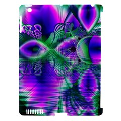 Evening Crystal Primrose, Abstract Night Flowers Apple Ipad 3/4 Hardshell Case (compatible With Smart Cover) by DianeClancy