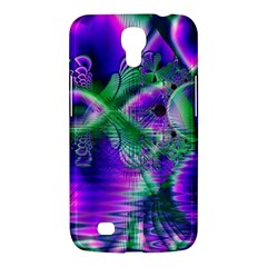 Evening Crystal Primrose, Abstract Night Flowers Samsung Galaxy Mega 6 3  I9200 Hardshell Case by DianeClancy