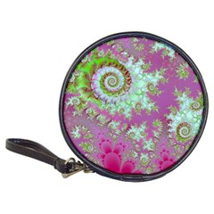 Raspberry Lime Surprise, Abstract Sea Garden  CD Wallet