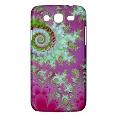 Raspberry Lime Surprise, Abstract Sea Garden  Samsung Galaxy Mega 5 8 I9152 Hardshell Case  by DianeClancy
