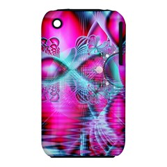 Ruby Red Crystal Palace, Abstract Jewels Apple Iphone 3g/3gs Hardshell Case (pc+silicone) by DianeClancy