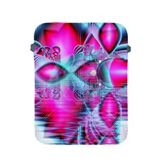 Ruby Red Crystal Palace, Abstract Jewels Apple Ipad Protective Sleeve by DianeClancy