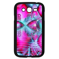 Ruby Red Crystal Palace, Abstract Jewels Samsung Galaxy Grand DUOS I9082 Case (Black) by DianeClancy