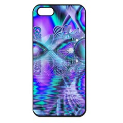 Peacock Crystal Palace Of Dreams, Abstract Apple Iphone 5 Seamless Case (black) by DianeClancy