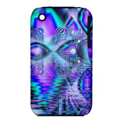 Peacock Crystal Palace Of Dreams, Abstract Apple Iphone 3g/3gs Hardshell Case (pc+silicone) by DianeClancy
