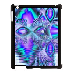 Peacock Crystal Palace Of Dreams, Abstract Apple iPad 3/4 Case (Black) by DianeClancy