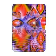 Crystal Star Dance, Abstract Purple Orange Samsung Galaxy Tab 2 (10 1 ) P5100 Hardshell Case  by DianeClancy
