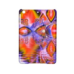 Crystal Star Dance, Abstract Purple Orange Apple Ipad Mini 2 Hardshell Case by DianeClancy
